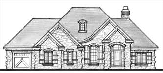 Sarona Home Plan   Bedroom  Bathroom    Sq ft Ranch Home    Prairie Elevation  French Country Elevation