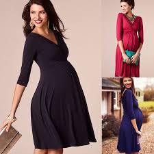 Maternity <b>Clothes 2019</b> Spring Summer <b>Pregnant Women Dress</b> ...