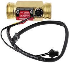 """Meiqqm <b>G3</b>/<b>4</b>"""" <b>Flow Sensor Water</b> Flow Switch with Temperature ..."""