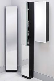 white mirrored bathroom wall cabinets: white sliding mirror door bathroom cabinet bathroom storage