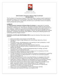Resume Examples Of Administrative Assistant Resumes Corezume Co ... job description for administrative assistant for resume the most resume administrative assistant duties sample resume