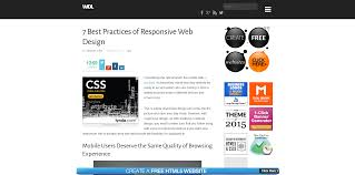 responsive design best practices ugurus it s very important that every site works perfectly on a wide array of devices due to the evolution of mobile technology in order to do that creators must