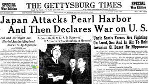 pearl harbor paper image of a newspaper of the attack on pearl harbor h thinglink image of a image of a newspaper of the attack on pearl harbor h thinglink image of a