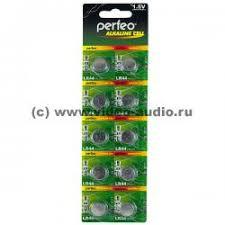 <b>Батарейки</b> - <b>Perfeo LR44</b>/<b>10BL</b> A76 G13 <b>Alkaline</b> Cell