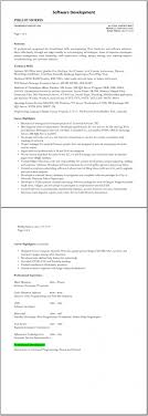 software development resume software development resume 2055