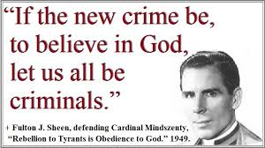 Image result for fulton sheen quotes
