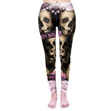 Women Legging <b>LOVE</b> YOU TO <b>DEATH Printing</b> Leggins Slim High ...