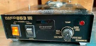 Hakko <b>853 ESD</b> Safe Preheater / Soldering & Rework 248-482°F ...