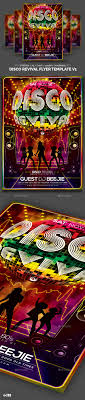 disco revival flyer template v by lou graphicriver disco revival flyer template v1 clubs parties events