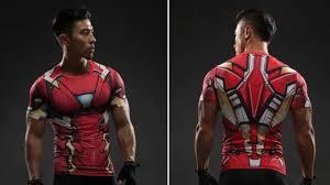 The Best Iron Man <b>Marvel</b> Superheroes Costume <b>3D</b> Compression ...