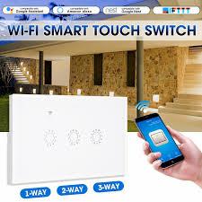 SMATRUL smart <b>Wireless</b> touch <b>Switch</b> Light Glass Screen <b>RF</b> ...