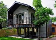 ideas about House On Stilts on Pinterest   Houses  Beach    Courtyard of stilt house which is easily accessible through lower floor glass doors