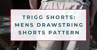 Previous <b>Men's</b> Drawstring <b>Shorts</b> Pattern: Making The Trigg <b>Shorts</b>!
