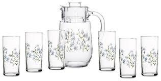Набор <b>Endura</b> Gazebo кувшин + стаканы <b>7 предметов</b> — купить ...