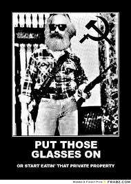 PUT THOSE GLASSES ON... - Karl Marx They Live Meme Generator ... via Relatably.com