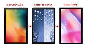 Blackview TAB 8 vs Iplay 20 vs <b>Teclast P20HD</b> tablet 4G LTE (link in ...
