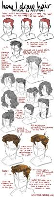 best images about character anatomy hair how to draw hair art by reimena ashel yee blog website online store 9733 character design references love character design
