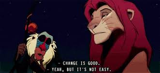 simba in lion king change is good