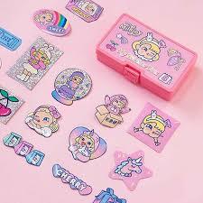 Laser Hologram <b>Shining Cute Girls</b> Carry Phone Bag Bentoy Printed ...