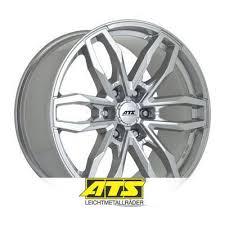 Alloy wheels <b>ATS Temperament 9x19</b> ET58 <b>5x150</b> 110.1 Silver ...