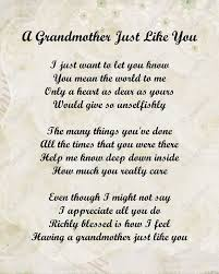 Grandmother Poem on Pinterest | Grandmother Quotes, Missing ...