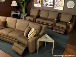 room furniture houston: stunning media room furniture houston with brown color theme ideas