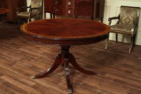 mahogany dining table drum leaf