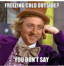Funniest Weather Memes to Get You Through The Cold Months - Page 19 via Relatably.com