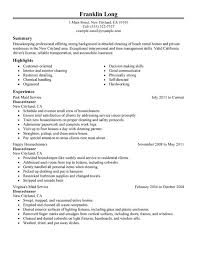 Impactful Professional Maintenance & Janitorial Resume Examples ... Housecleaners