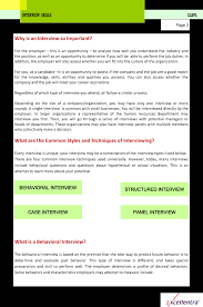 interview skills sample content excellentra interview skills sample content