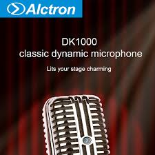<b>Alctron DK1000</b> проводной Винтажный Классический <b>микрофон</b> ...