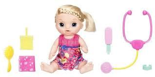 Интерактивная <b>кукла</b> Hasbro <b>Baby Alive Малышка</b> у врача, 35 см ...