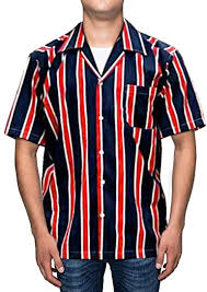 ZAFUL <b>Men</b>' s Regular-fit Color Block <b>Striped</b> Casual <b>Short Sleeves</b> ...