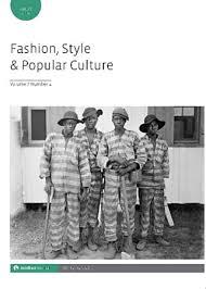 Fashion, Style & Popular Culture - Intellect Books
