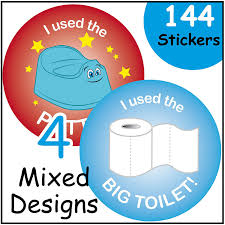 a4 boy potty toilet training chart stickers amazon co uk 144 potty training reward stickers