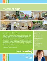 west seattle real estate agent sarah mosley seattle real 8113 37th flyer