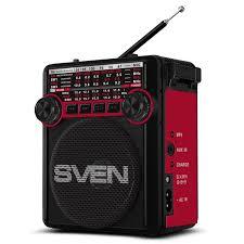 <b>Радиоприемник SVEN SRP-355</b>, красный — купить в интернет ...