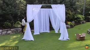 Decorating A Trellis For A Wedding Wedding Canopy Georgia Expo Pipe And Drape Creating A Wedding