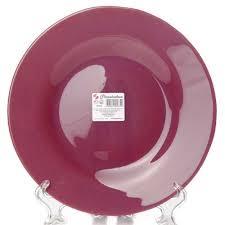 Купить <b>тарелка</b> столовая мелкая <b>pasabahce purple</b> city, d=26 см ...