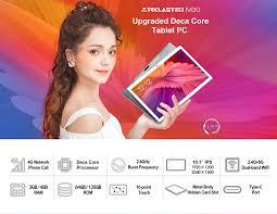 Newest <b>Teclast</b> M30 10.1 inch <b>Tablet</b> MT6797 X27 Deca Core 2560 ...