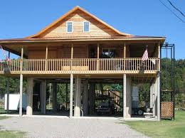 ideas about House On Stilts on Pinterest   Houses  Beach    River House On Stilts  House On Stilts Plans  Beach House Plans On Stilts  Cuba Landing  Landing Usa  Elevated Cabins  Elevated Houses  Nanney Island