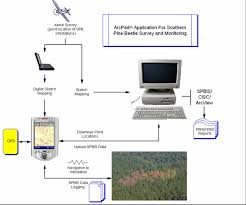 operational use of southern pine beetle survey data for forest    schematic diagram of the activities associated   survey and monitoring the spb  the automated system proposed herein will address  i   ing aerial