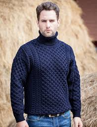 Mens Wool Turtleneck Sweater | Men sweater, Wool turtleneck ...