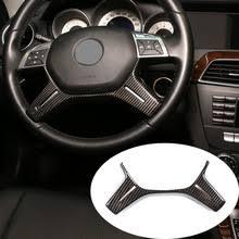 Автомобильный ABS карбоновый руль декоративная <b>рамка для</b> ...