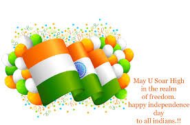 Happy Independence Day Wishes Messages English Language - 15 Aug SMS
