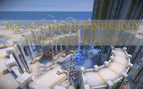 Mrf's <b>white</b>-<b>gold</b> winterhold at <b>Skyrim</b> Special Edition Nexus - Mods ...