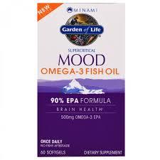 <b>Рыбий жир</b> Омега-3 Minami Nutrition, <b>Суперкритикал Муд</b>, рыбий ...
