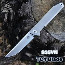 <b>SANRENMU</b> SRM NEW <b>1161</b>-<b>TZ</b> Pocket Folding <b>Knife S35VN</b> ...