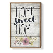 <b>home sweet home</b> wall art You'll Love in 2019 | Wayfair