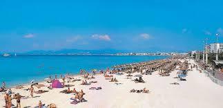 пляж в Пальме